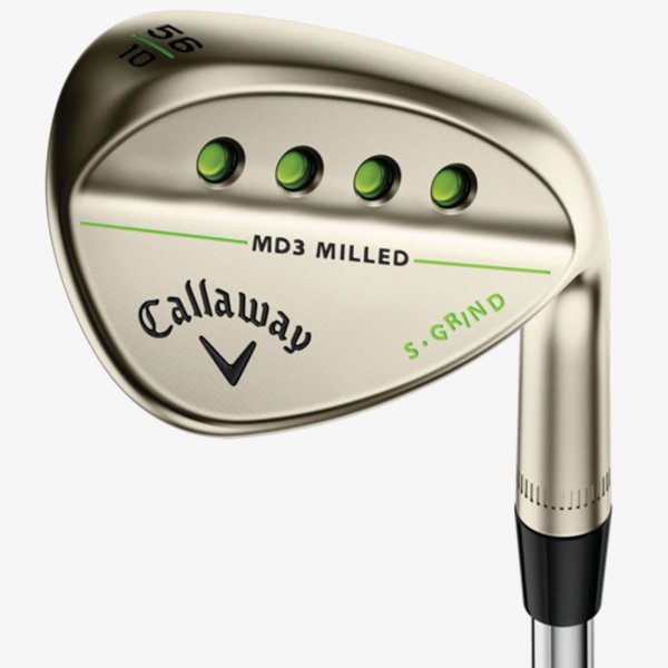 Callaway MD3 Milled Gold Nickel Wedge