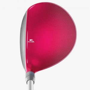 COBRA King F6 Fairway raspberry address