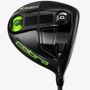 COBRA King F6 Driver turbulence hero